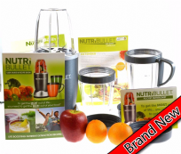 NutriBullet 600 Series 12 Piece Blender Mixer Smoothie Extractor 600W Graphite
